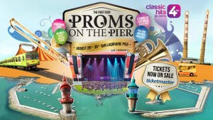 Proms on the pier Dublin