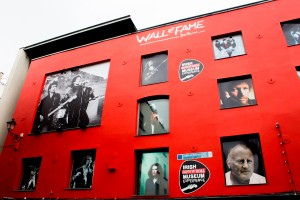 The Wall of Fame in Temple Bar
